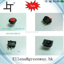 2pin Lighte LED Push Button Light Rocker Switch