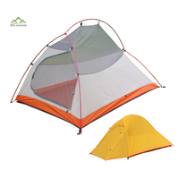 Design for Canton Fair 2 P Light Weight Wateroroof Lightweight Backpacking Camping Tent For Hiking Climbing Travel