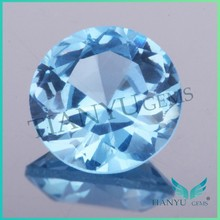 High quality rough diamond round shape 107# lab created spinel for fashion jewelry