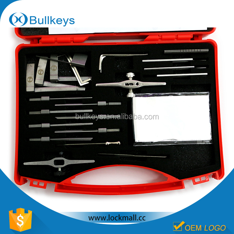 china manufacturer Bullkeys wholesale quick open lock pick set huk locksmith tools SQ0003