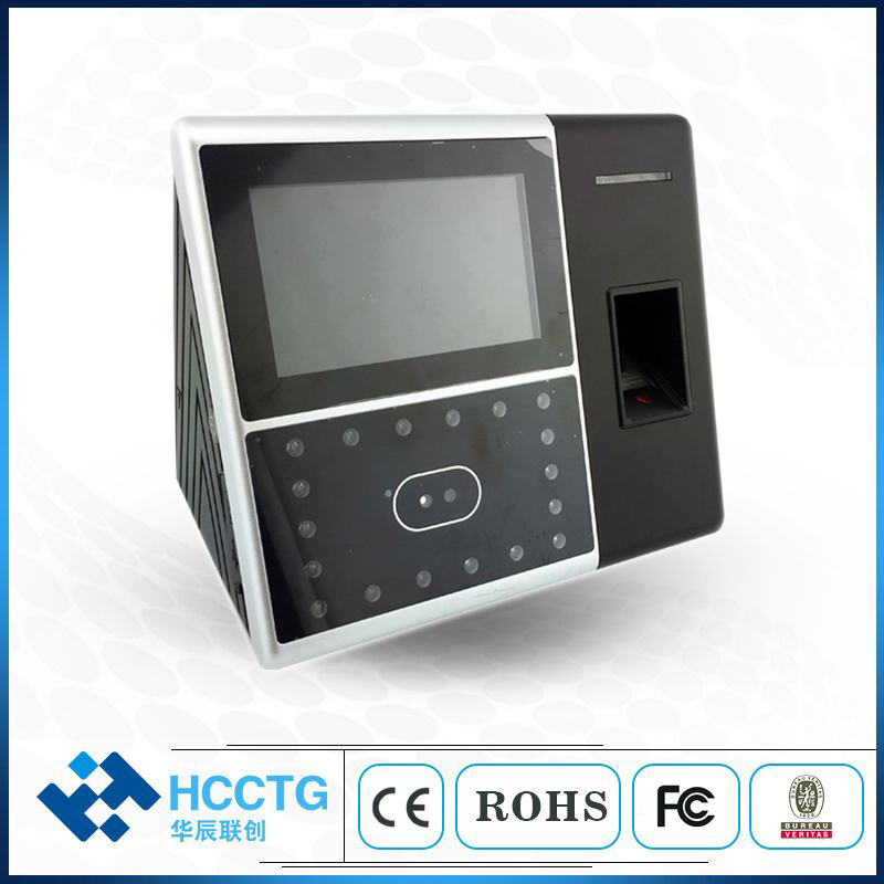 Fingerprint Time Attendance Face Recognition Biometric Machine iFace302