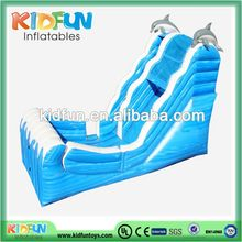 Top quality best sell inflatable dolphin water slides