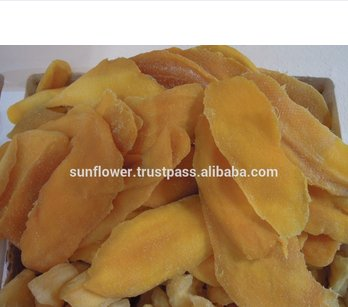 Low sugar Soft dry mango Slice