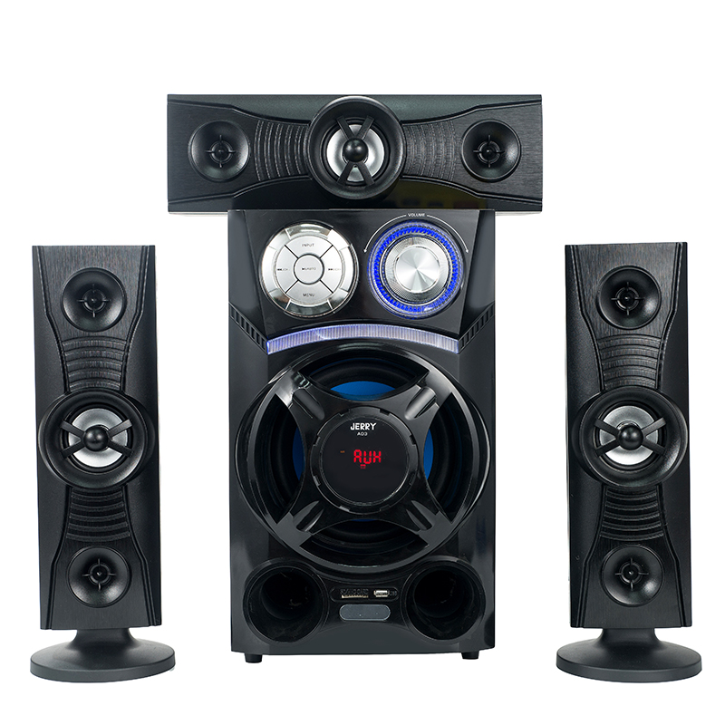 Wholesale price wireless microphone speaker system surround sound home theater music system
