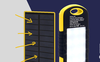 portable power bank solar charger for laptop