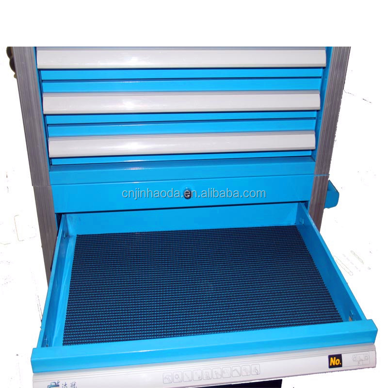 Customized high quality 6 drawers and aluminum handle tool chest