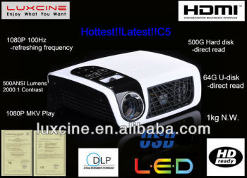 2014 Outdoor Portable LED TV Projector