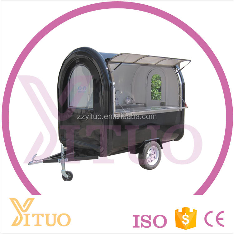 2016 hot sale street mobile popsicle ice cream push cart for sale