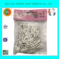 25MM light white Mini clothes pegs