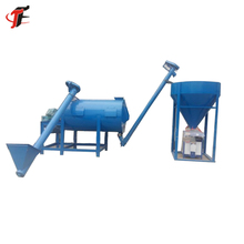 Low Cost Continuous Tile Adhesive Dry Construction Mixture Mortar Mixer
