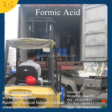 Organic Acid Chemicals For Sale 85% 94% min Pure Formic Acid Producer