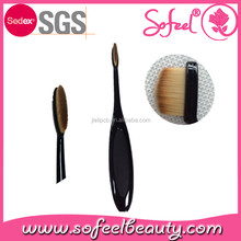 sofeel eyebrow makeup brush oval brush with straight synthetic hair