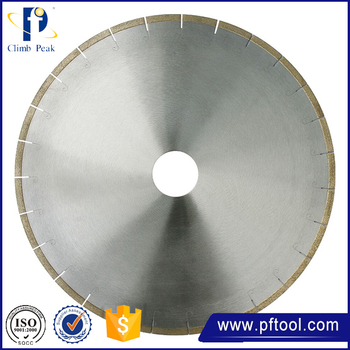 Low Noise 350mm Diamond J-slot Marble Cutting Blade