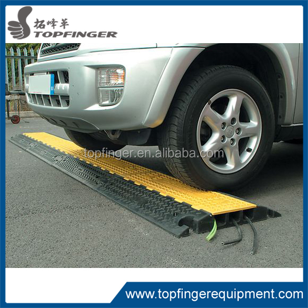 Covers Wires in High Traffic Areas - Stage, Concert, Sidewalk For indoor/2-5 Channel Industrial Rubber Cable Ramp