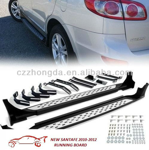 2010-2012 Hyundai new santafe running board side step bars 2 PCS SET