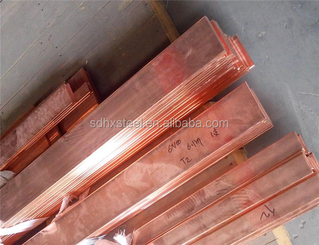 Cheap Tinned Copper flat Bars For Insulated conductor bars weight