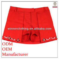 Factory fashion design summer new style woman mini pants