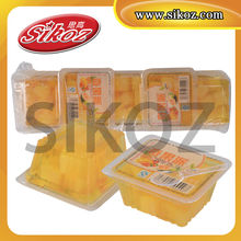 SIKOZ brand Yogee Coconut Jelly with Nata De Coco (25gm) - jelly, pudding, corn flavour pudding, fruit jelly