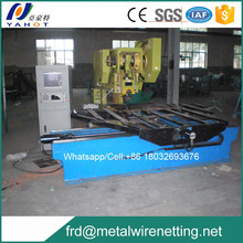 Automatic perforated mesh machine (pounding in sheet)