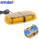 Cheap micro strobe light bar for car roof amber led emergency vehicles warning mini lightbar