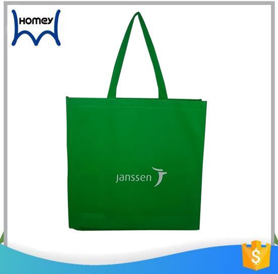 Promotional vinyl laminate customize non woven tote shopping bag wholesale