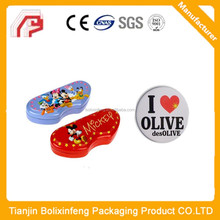 Tinplate round button badges for furniture decoration