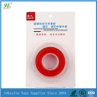 Retail waterproof acrylic adhesive pet double coated tape