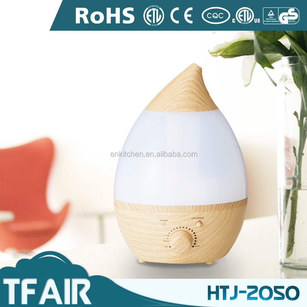 2017 Trending Product Water Drop Humidifier HTJ-2050 4L Super Capacity Color Changing Ultrasonic Humidifier