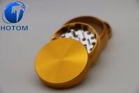 CNC turning milling high precision aluminum herb grinder 4 part 55mm/63mm