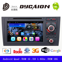 Car dvd gps player For audi a4 navigation/gps navigation for audi a4 cd 2din autoradio/dvd for audi a4 android