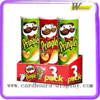 Pringles Wholesale PDQ Cardboard Food Display Box