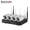 Sunivision 4 channel hd nvr kit 960p bullet ip camera wireless cctv system