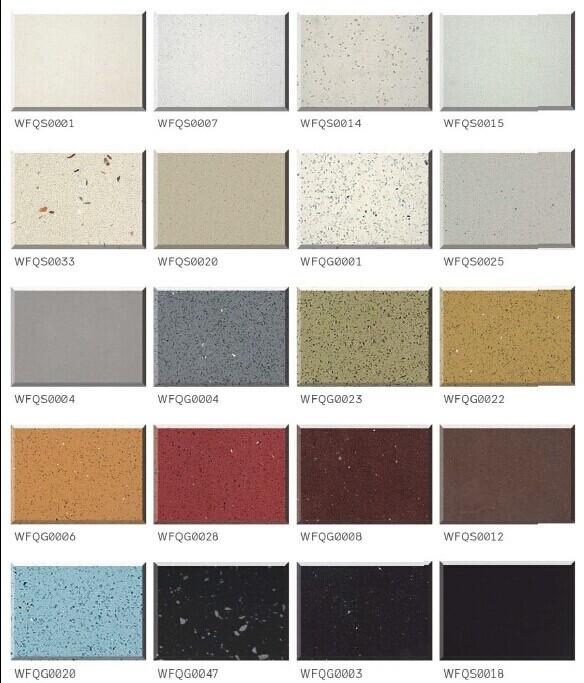 White Sparkle Quartz Stone Countertop Artificial Stone