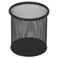 Personalized round Metal Mesh Pen Holder