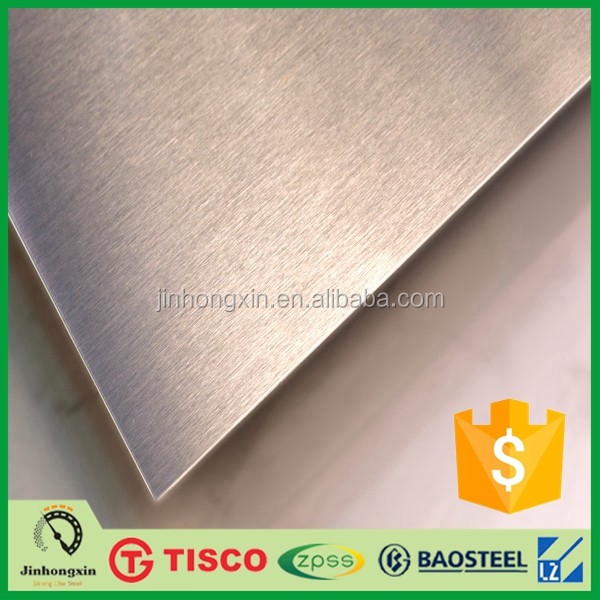 hairline finish ss 304 stainless steel sheet for elevator door decoration