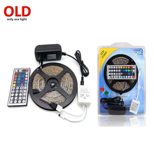 Shenzhen factory 3528 rgb silicone coated led strips 12v with adapter and controller