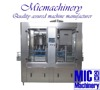 MIC-12-1 Factory design two in one Glass Bottle Hot Fruit Juice Filling Machine
