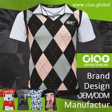 Cheap sublimation t shirt Dye mens fitness apparel