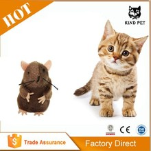 Real Mouse Cat Toys Vibrating Mice Cat Toys Pet Cat Toy Supplier