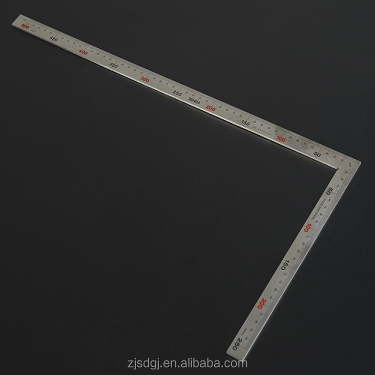 Stainless Steel Measuring Tool Angle Square Ruler