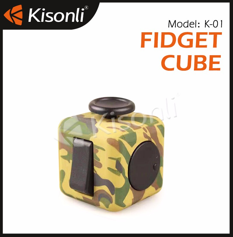 6 Sides Anti Stress Magic Cube/Anxiety Fidget Toy Marble Cube/Funny Desk Fidget Toys For Adults