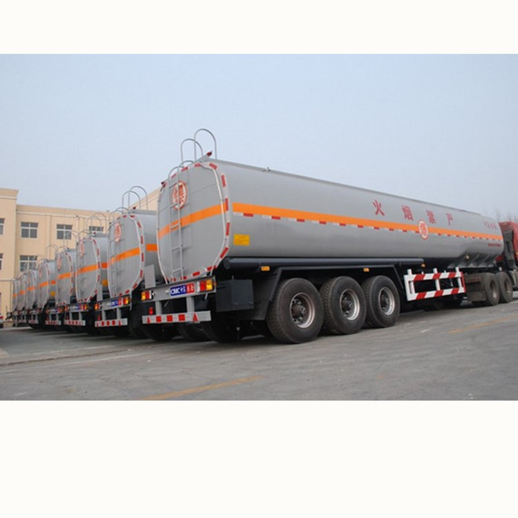 40ton Aluminum alloy fuel tanker semi trailer