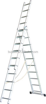 aluminum Telescopic ladder use in high place