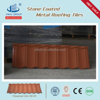Lightweight Stone Coated Metal Roofing Tiles factory in China