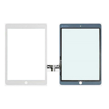 OEM Black Touch Screen Glass Digitizer For iPad Air 5 Adhesive Home Button