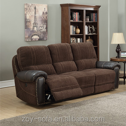 Living room furniture Classical model cheers furniture leather recliner sofa Contemporary Sofa ZOY 7029C