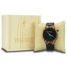 watch manufacturer cheap price japan wood watch with wooden watch box custom logo available