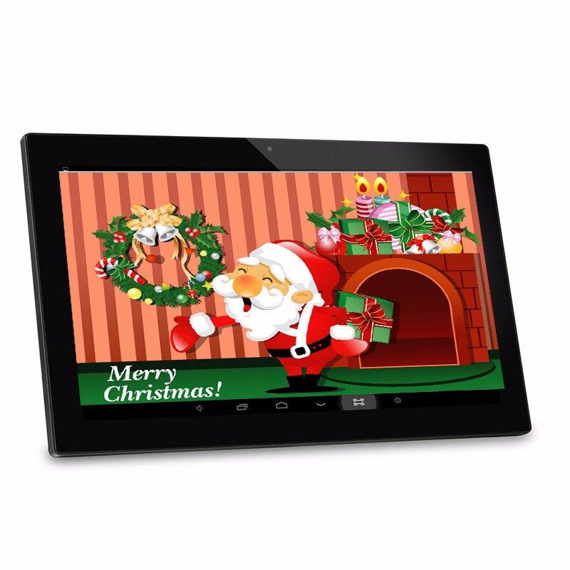 android system USB tft lcd tablet player 23.6 inch advertising display support wifi