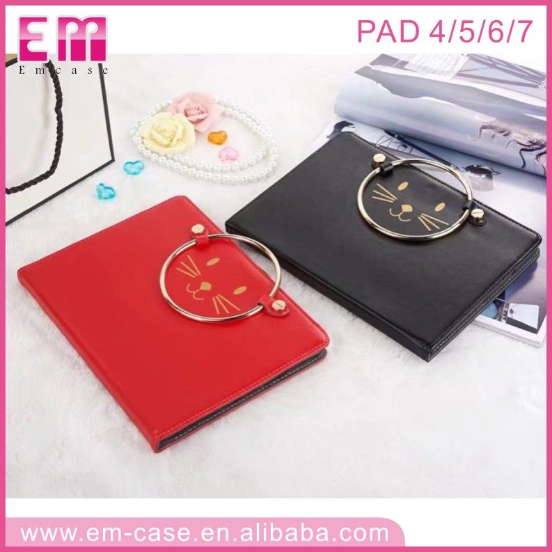 Factory Bulk Price Tablet Leather Case for iPad 4 Laptop Cover Case for iPad air 2