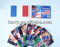 flag face paint card/football face paint/body paint/non-toxic